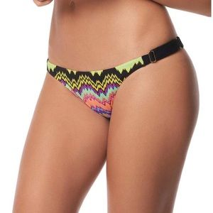 Pilyq Swim - PilyQ Chevron Clara Adjustable Swim Bottom